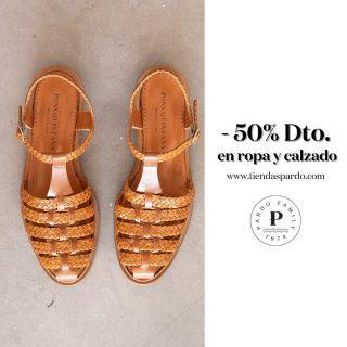 Ahora sí... Llegó el 50% en ropa y calzado...  ¿Has estado esperando pacientemente, a que si? 😂  Feliz lunes de rebajas.  www.tiendaspardo.com  #rebajas #rebajasdeverano #descuento #conceptstore #barriodelasletras #madrid #suances #cantabria #sandalias #zapatillas #alpargatas #chubasqueros #modamujer #ropamujer #batela #tanta #gaimo #ponsquintana #accesorios